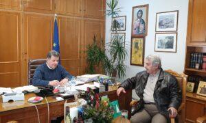 Συνάντηση Αναστασόπουλου – Γιαννημάρα για έργα στη Δυτική Μάνη