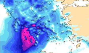 Νέα επιδείνωση του καιρού το Σάββατο στη Μεσσηνία με ισχυρές βροχές και καταιγίδες