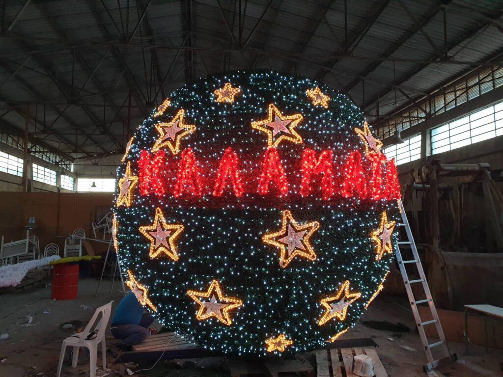Χριστούγεννα στην Καλαμάτα 2019: Εντυπωσιάζει ο στολισμός-Πλήθος εορταστικών εκδηλώσεων