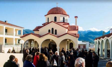 Με λαμπρότητα η εορτή του Αγίου Σπυρίδωνος στην Καλαμάτα
