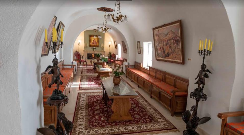 Μονή Βελανιδιάς: Εγκαινιάστηκε από τον Μητροπολίτη Μεσσηνίας το Αρχονταρίκι