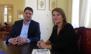Συνάντηση Αθανασόπουλου-Μηλίτση: Να αξιοποιηθεί το Ανδρομονάστηρο ως χώρος διοργάνωσης ποιοτικών εκδηλώσεων