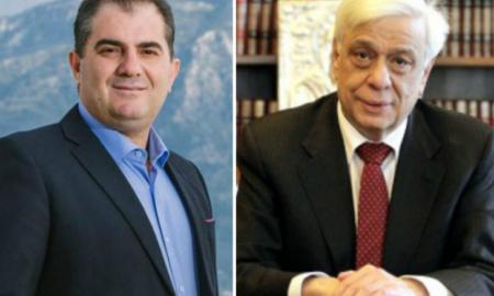 Στο Προεδρικό Μέγαρο ο Βασιλόπουλος-Συνάντηση με Παυλόπουλο και πρόσκληση για την Υπαπαντή
