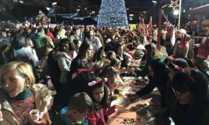 Εκπαιδευτήρια Μπουγά-ΙΕΚ Ορίζων: Το αδιαχώρητο στην κεντρική πλατεία Καλαμάτας για τη χριστουγεννιάτικη εκδήλωση!