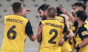 AEK- Πανιώνιος 5-0: Εντυπωσιακή επιστροφή στις νίκες με χατ τρικ Ολιβέιρα