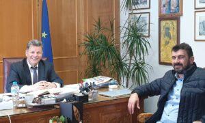 Διαβεβαιώσεις Αναστασόπουλου σε Σπηλιώτη για το γήπεδο της Ένωσης στον Κορδία