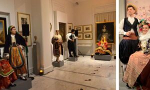 «Φορεσιές με Πρόσωπα»: Εντυπωσίασε η εκδήλωση με φορεσιές κι από τη Συλλογή της Βικτωρίας Καρέλια