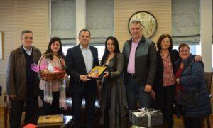 Τον Δήμαρχο Καλαμάτας επισκέφθηκαν οι υπεύθυνοι του Ευκλή