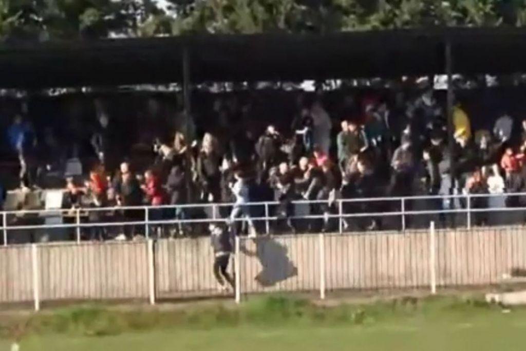 Επεισόδια και άγριο ξύλο σε αγώνα Γ' Εθνικής (βίντεο)