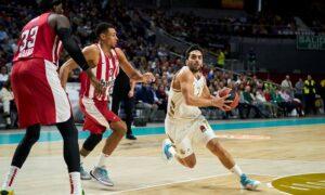 Ευρωλίγκα: Παράδοση άνευ όρων Ολυμπιακού στην Μαδρίτη