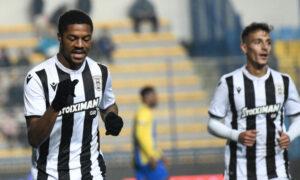 Super League: Κυρίαρχος και στο Αγρίνιο ο ΠΑΟΚ, 3-0 τον Παναιτωλικό