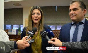 Στο Δημαρχείο Καλαμάτας η Υφυπουργός Παιδείας Σ.Ζαχαράκη