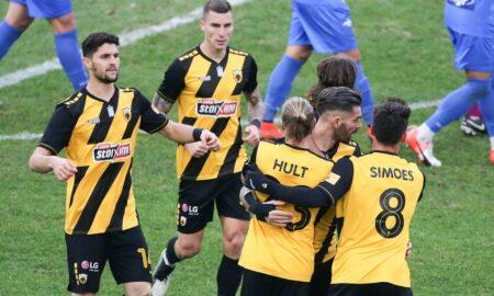 Super league: Με δυσκολία η ΑΕΚ 3-1 τον Παναιτωλικό (βίντεο)