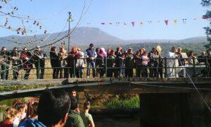 Άγιος Φλώρος: Αγιασμός στη γέφυρα και μετά συνεστίαση
