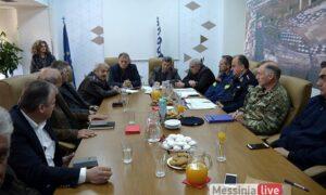 Σε επιφυλακή η Μεσσηνία για την κακοκαιρία – Έκκληση από την Περιφέρεια να αποφεύγουν οι πολίτες τις άσκοπες μετακινήσεις