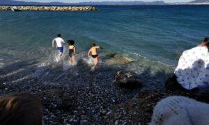 Αγιασμός των υδάτων στη Μικρή Μαντίνεια