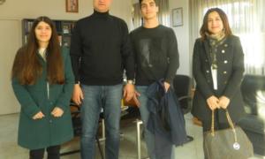 Στο Ευρωπαϊκό Κοινοβούλιο δύο μαθητές από το Λύκειο Πεταλιδίου-Θα αναλύσουν το προσφυγικό ζήτημα