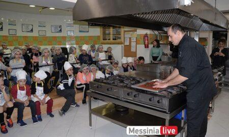 IEK Oρίζων και ΚΔΑΠ Μπουγά: Οι μικροί μαθητές έφτιαξαν τα δικά τους γλυκά υπό τις οδηγίες pastry chef Διαμαντόπουλου