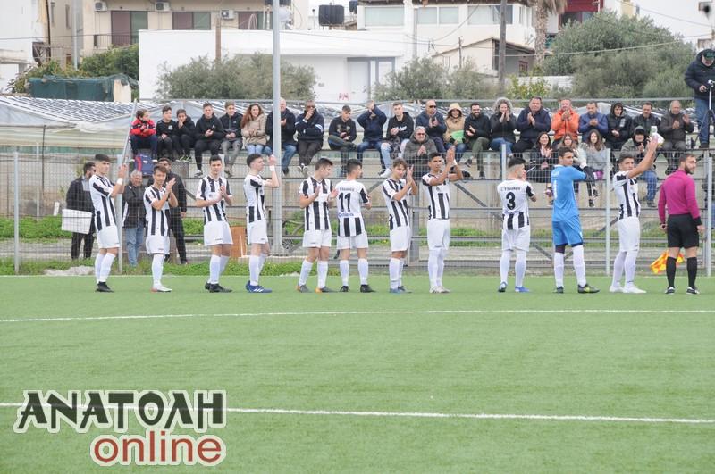 Άλωσαν την Κρήτη οι Νέοι της Μαύρης Θύελλας, 0-4 τον ΟΦΙ!