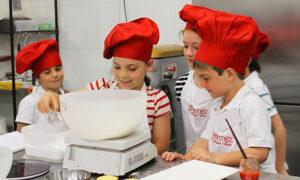 Zαχαροπλαστική για παιδιά Νηπιαγωγείου και Δημοτικού στα Εκπαιδευτήρια Μπουγά