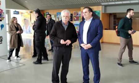 """Συνάντηση Βασιλόπουλου-Μπένου: Συμβολή και του """"Διαζώματος"""" στη δημιουργία τουριστικής ταυτότητας της Καλαμάτας"""