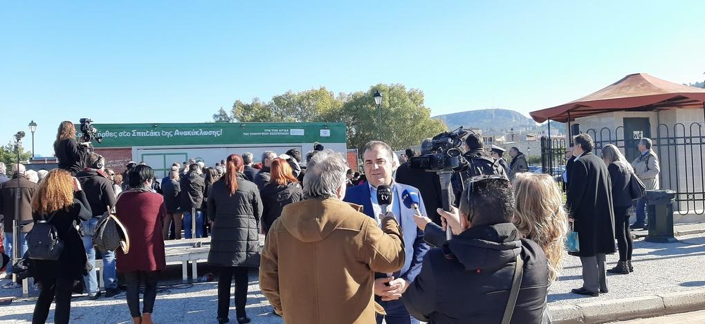 Πολυχώρο ανταποδοτικής ανακύκλωσης στην Καλαμάτα θέλει ο Βασιλόπουλος