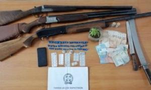 Μεγάλη αστυνομική επιχείρηση σε Άγιο Φλώρο και Άγιο Κωνσταντίνο-5 συλλήψεις