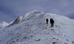 Ορειβατικός Καλαμάτας: Πρώτη ανάβαση της χρονιάς στην κορυφή του Ταϋγέτου στα 2.407μ.