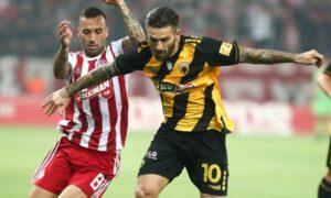 Super league: Μονομαχία ΑΕΚ- Ολυμπιακός στο ΟΑΚΑ