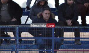 Αιγάλεω: Στην Καλαμάτα ο πρόεδρος Άρης Παλτόγλου είδε το ματς των Νέων!