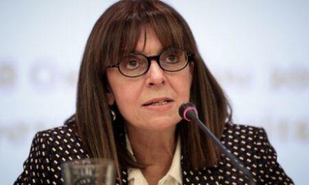 Tην Αικατερίνη Σακελλαροπούλου πρότεινε για Πρόεδρο της Δημοκρατίας ο Μητσοτάκης
