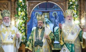 Ο Περιστερίου Κλήμης τίμησε τον Μεσσηνίας Χρυσόστομο