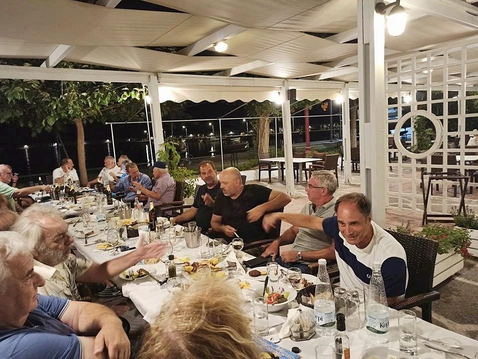 , Επιτυχημένο και το φετινό reunion των παλαίμαχων πολιστών του ΝΟΚ με ξεχωριστή παρουσία της Βούλας Κοζομπόλη