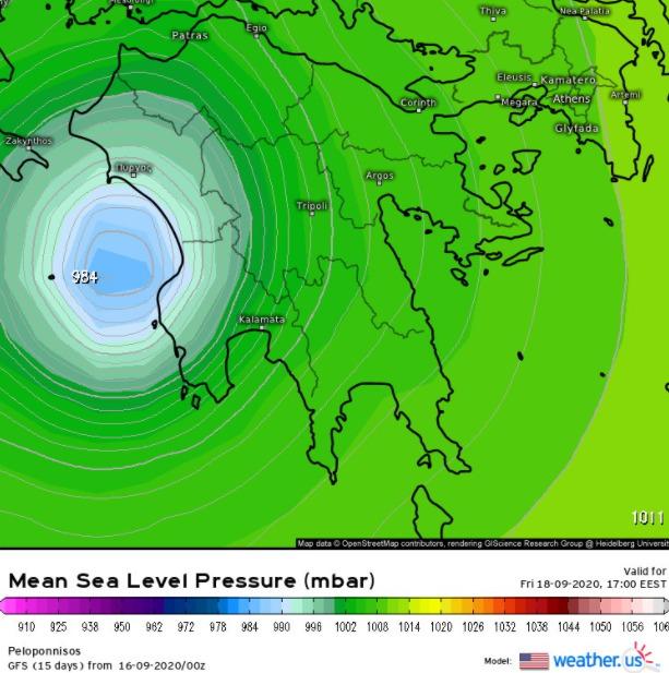", Kακοκαιρία ""Ιανός"": Βροχές και θυελλώδεις άνεμοι-Θα ""χτυπήσει"" και τη Μεσσηνία"